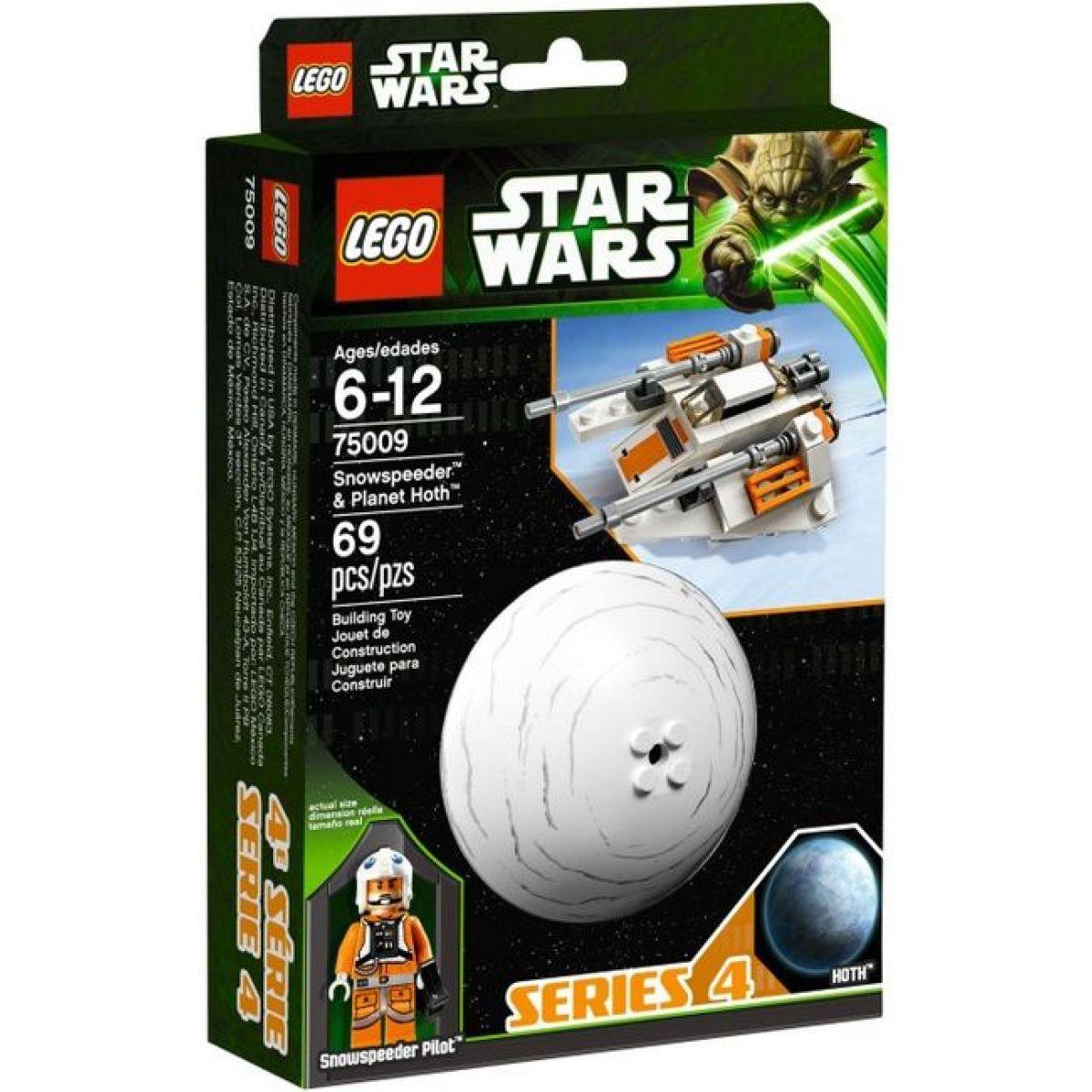 LEGO Star Wars 75009 Snowspeeder & Planet Hoth