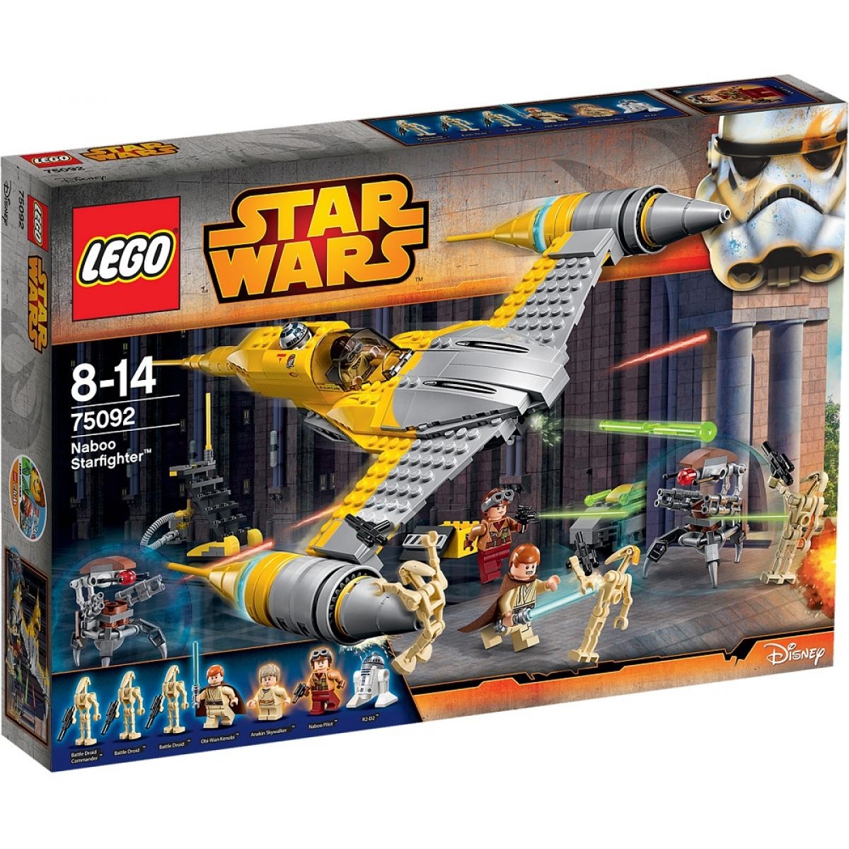 LEGO Star Wars 75092 Hvězdná stíhačka Naboo