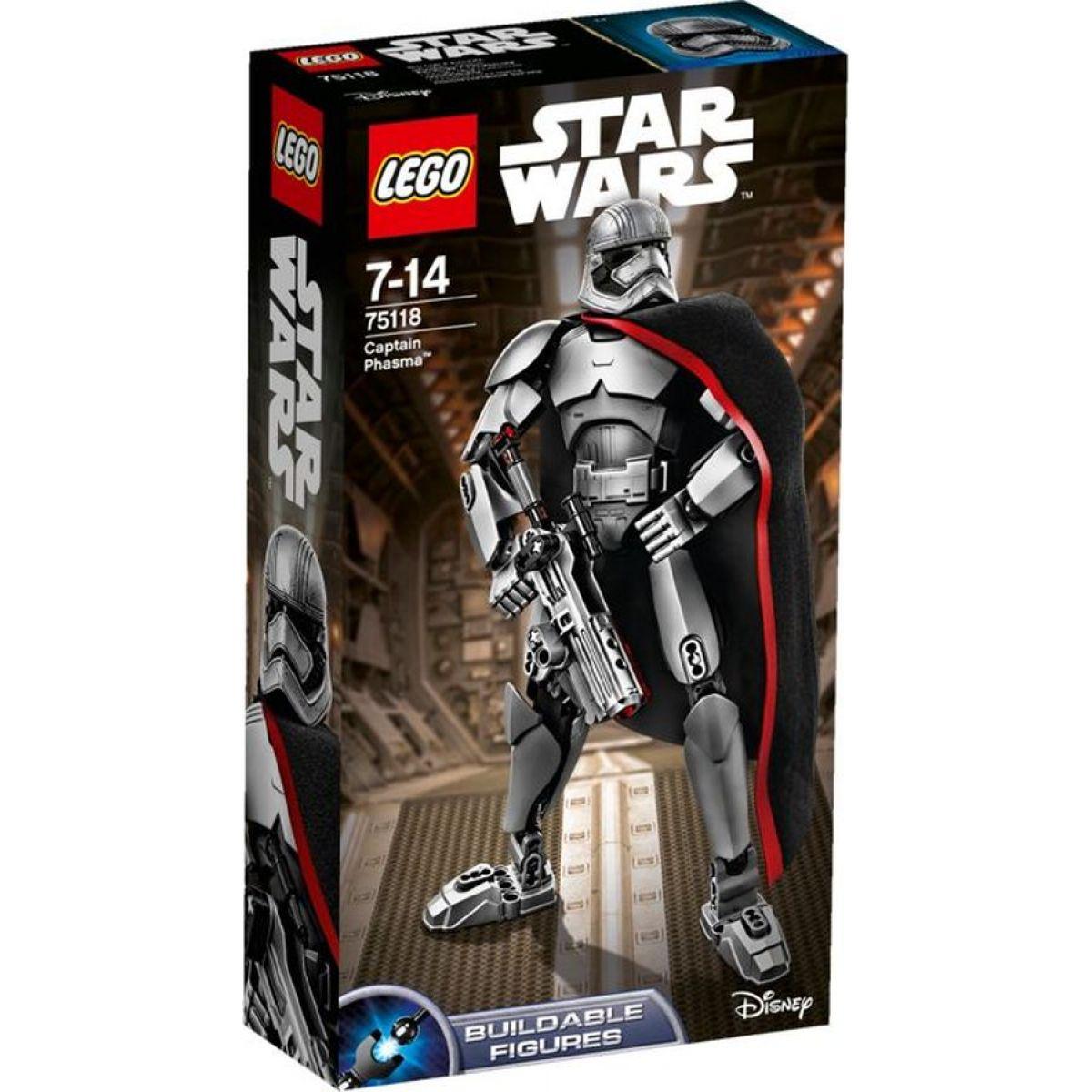 LEGO Star Wars 75118 Kapitánka Phasma