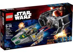 LEGO Star Wars 75150 Vader TIE Advanced vs. A-Wing Starfighter - Poškozený obal