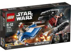 LEGO Star Wars 75196 Stíhačka A-Wing™ vs. mikrostíhačka TIE Silencer™