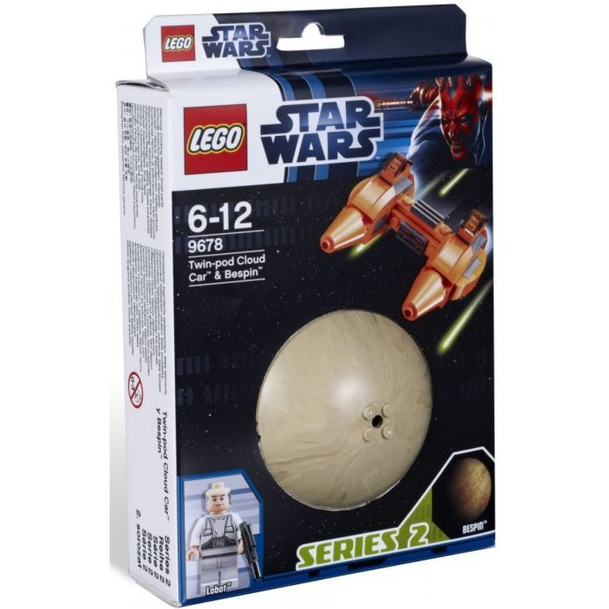 LEGO Star Wars 9678 Twin-pod Cloud Car a Bespin