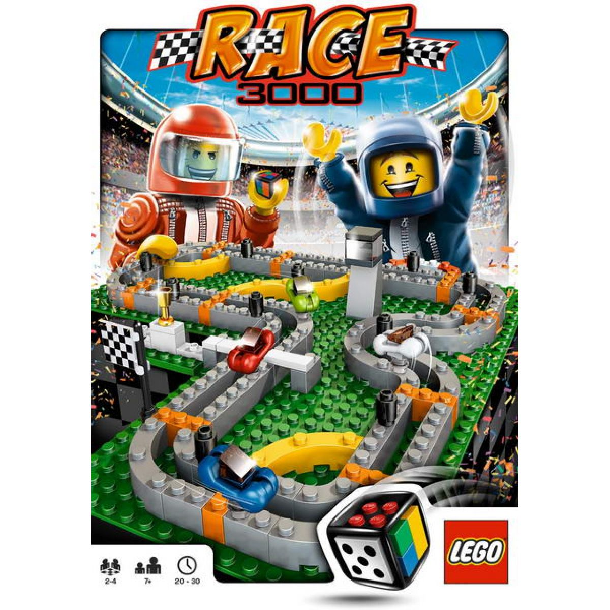 LEGO Stolní hra 3839 Race 3000