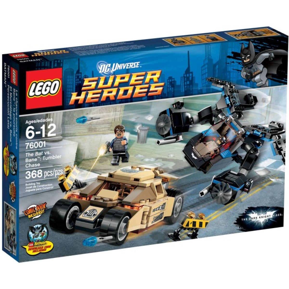 LEGO Super Heroes 76001 The Bat vs. Bane: Krkolomná honička