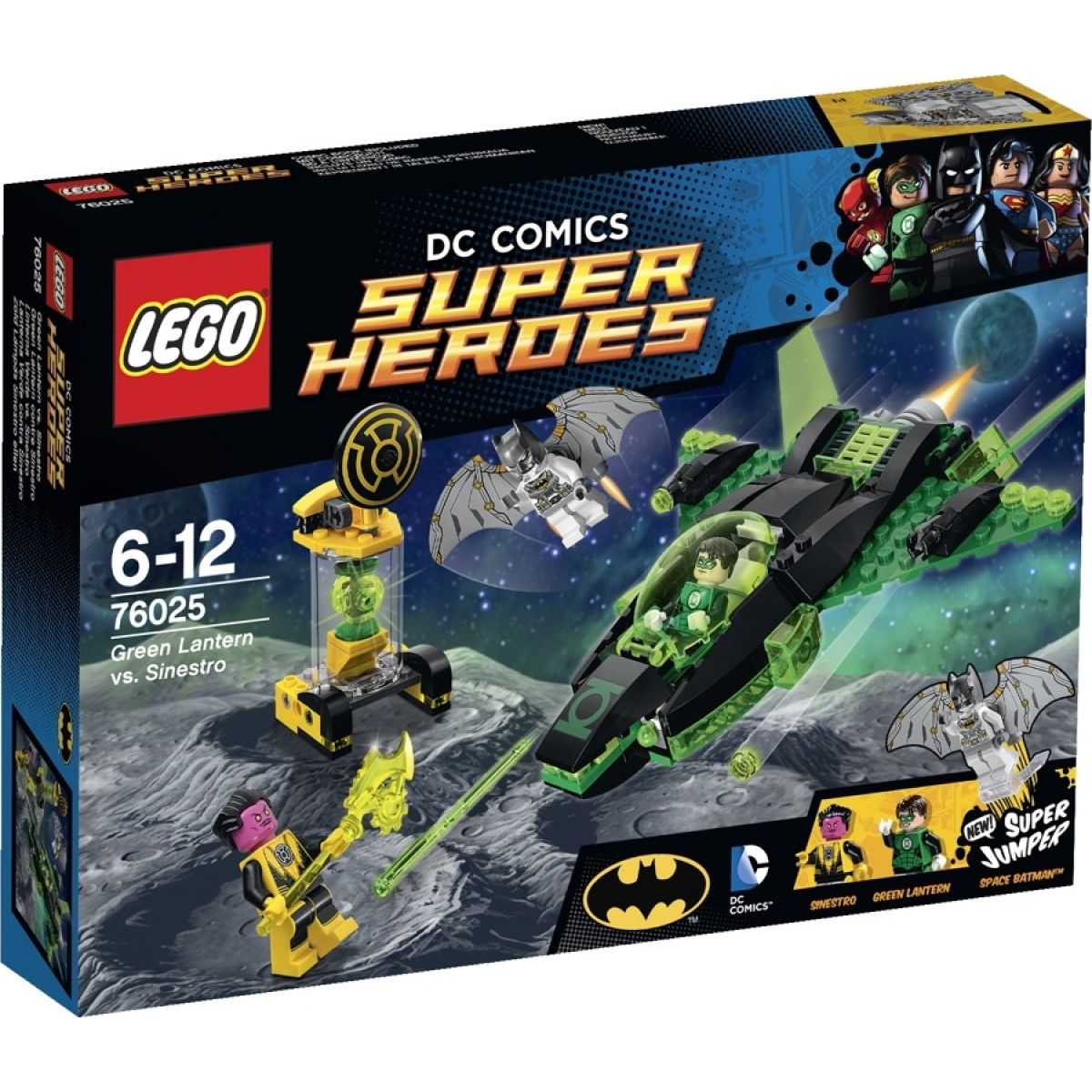 LEGO Super Heroes 76025 Green Lantern vs. Sinestro