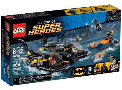 LEGO Super Heroes 76034 Honička v přístavu s Batmanovým člunem