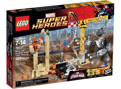 LEGO Super Heroes 76037 Superzlosynové Rhino a Sandman