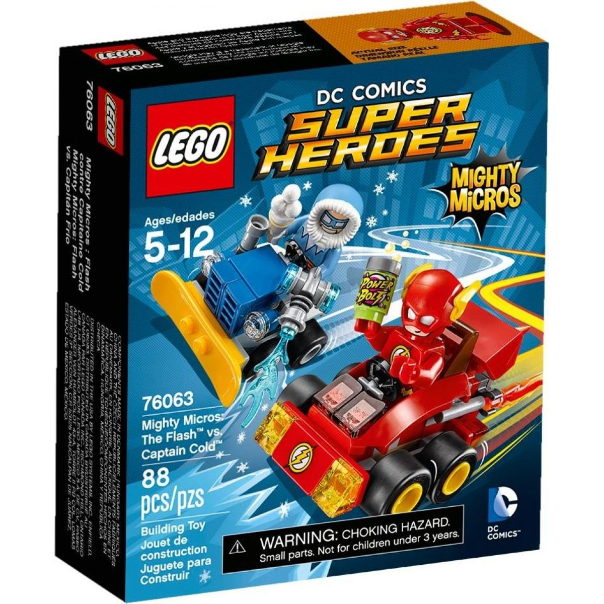 LEGO Super Heroes 76063 Mighty Micros: Flash vs. Kapitán Cold