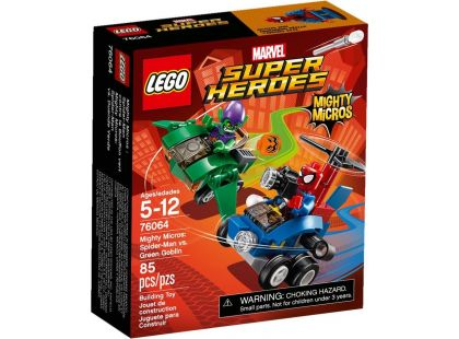 LEGO Super Heroes 76064 Mighty Micros: Spiderman vs. Green Goblin - Poškozený obal