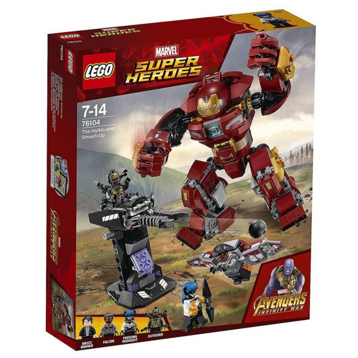 LEGO Super Heroes 76104 Střetnutí s Hulkbusterem