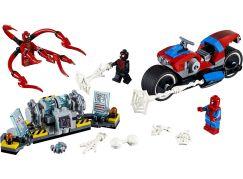 LEGO Super Heroes 76113 Spiderman a záchrana na motorce