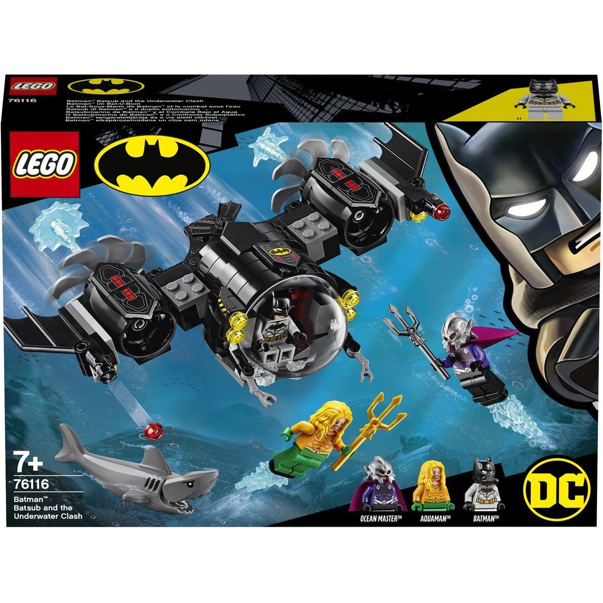 LEGO Super Heroes 76116 Batmanova ponorka a střetnutí pod vodou