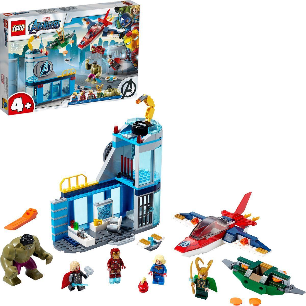 LEGO® Super Heroes 76152 Avengers – Lokiho hněv