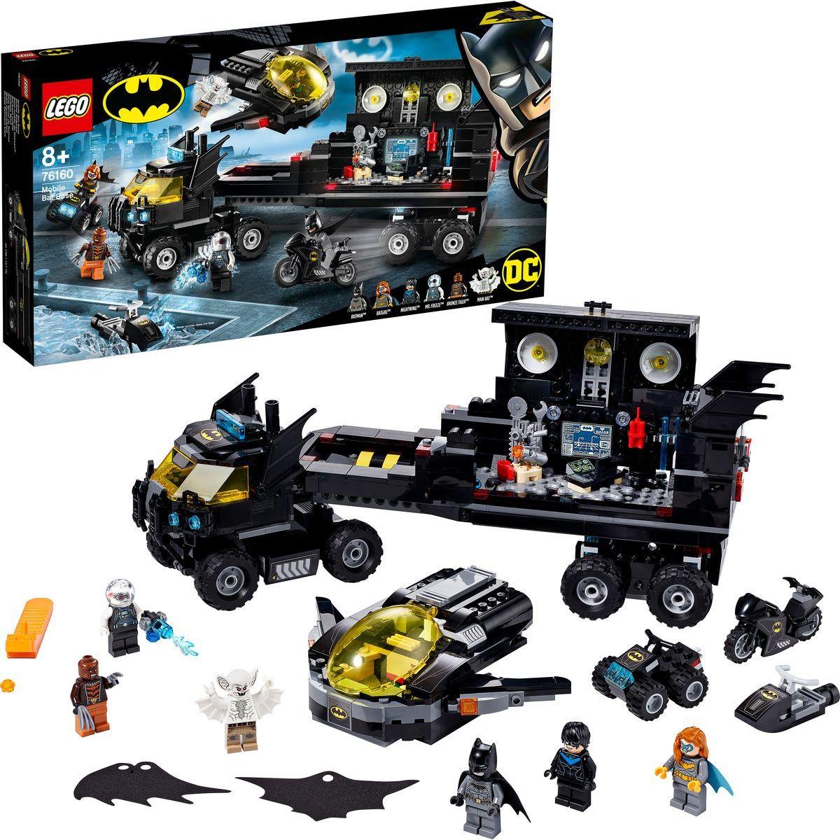 LEGO® Super Heroes 76160 Mobilní základna Batmana