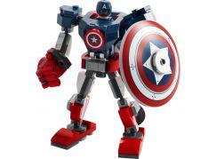 LEGO Super Heroes 76168 Captain America v obrněném robotu