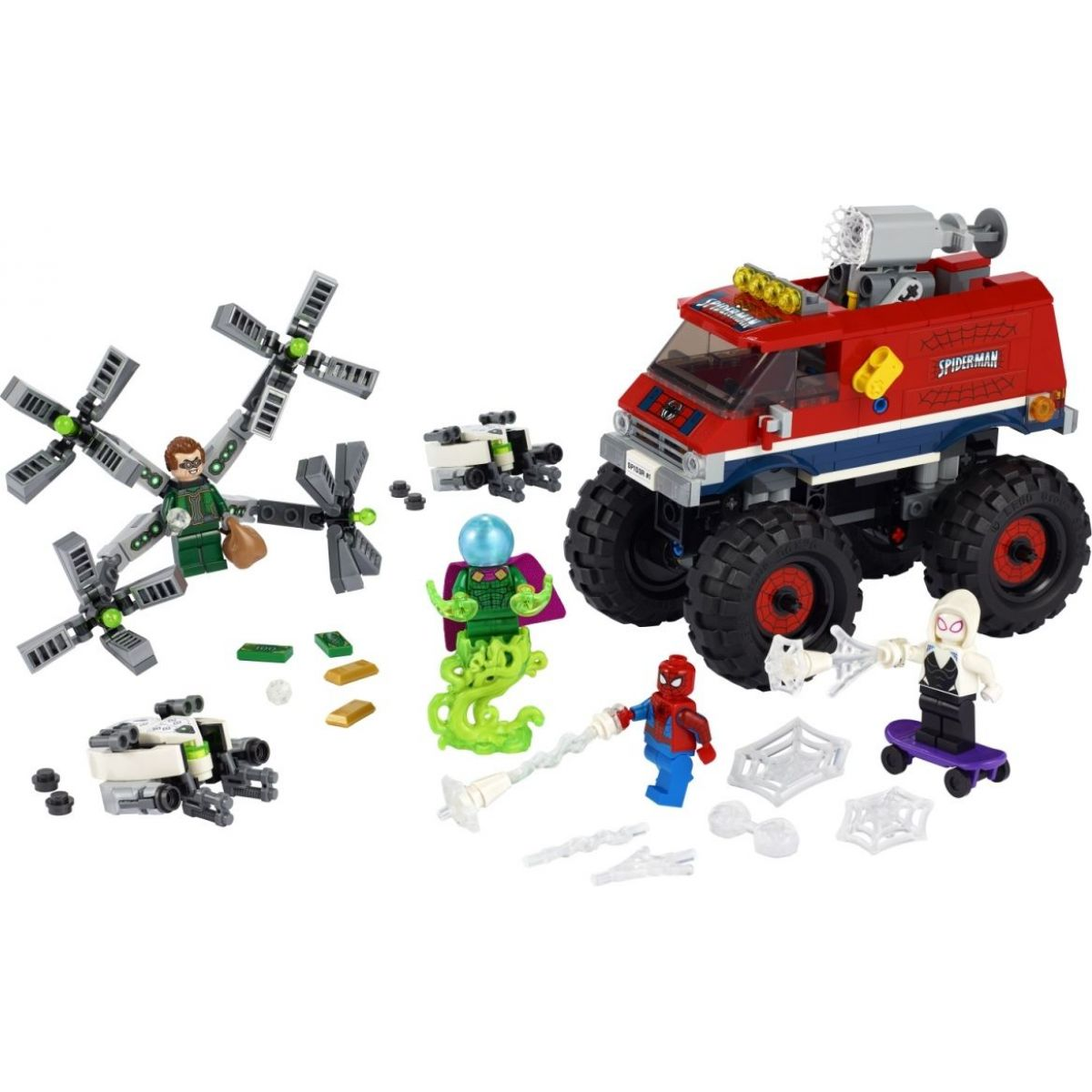 LEGO Super Heroes 76174 Spider-Man v monster trucku vs. Mysterio