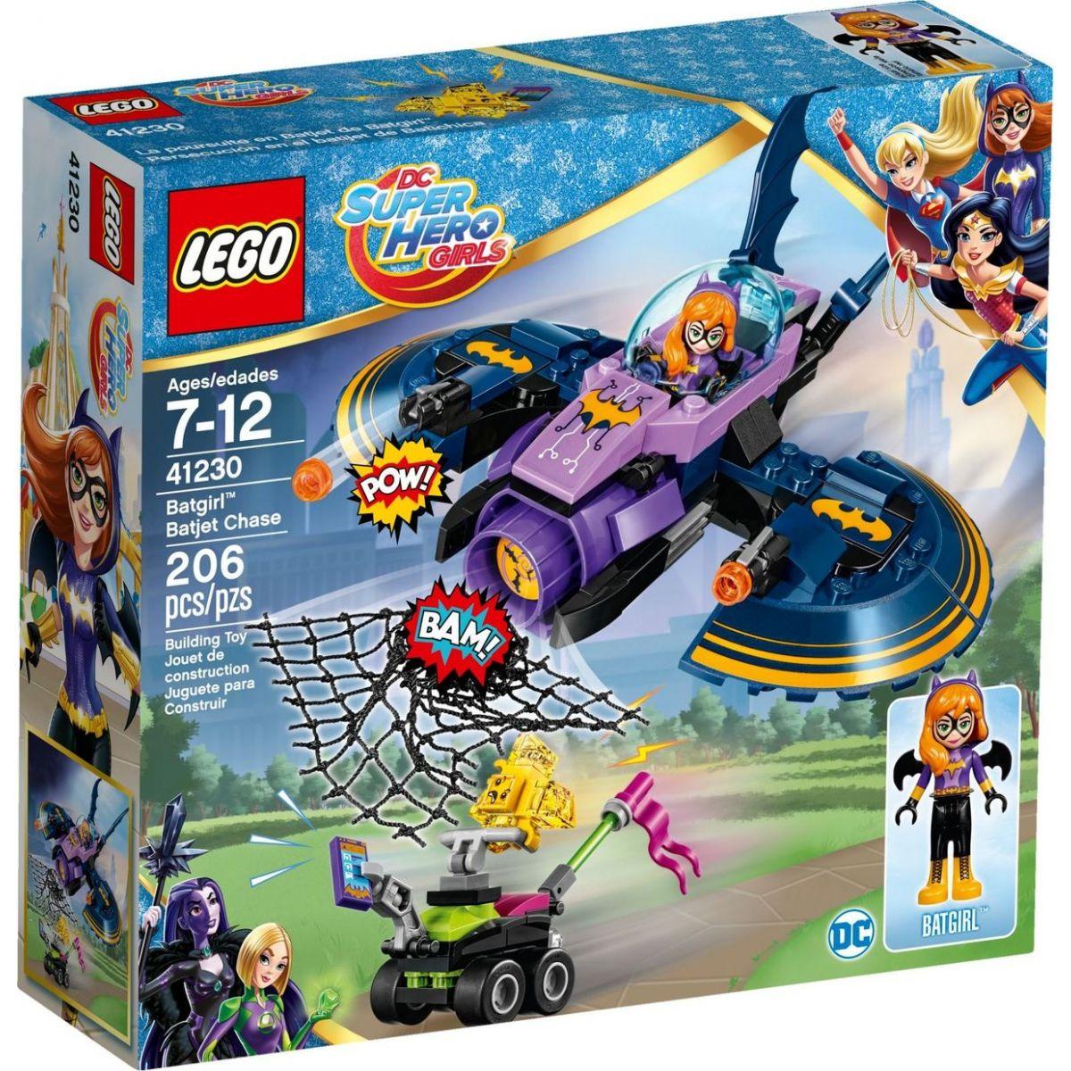 LEGO Super Heroes Girls 41230 Batgir a honička v Batjetu