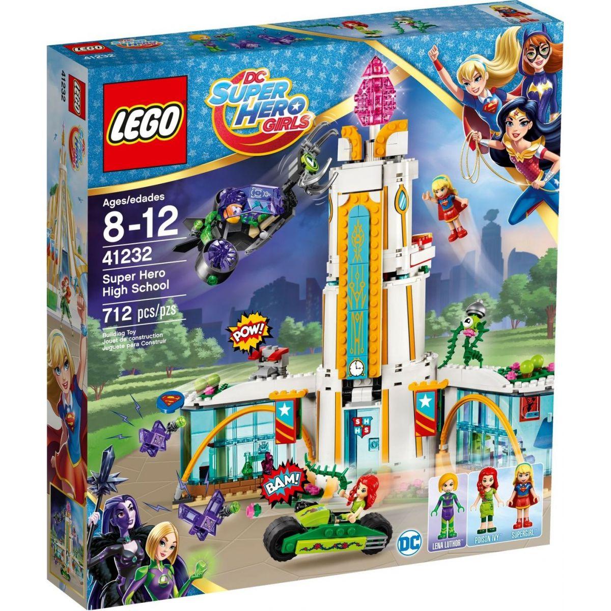 LEGO Super Heroes Girls 41232 Střední škola pro super hrdiny