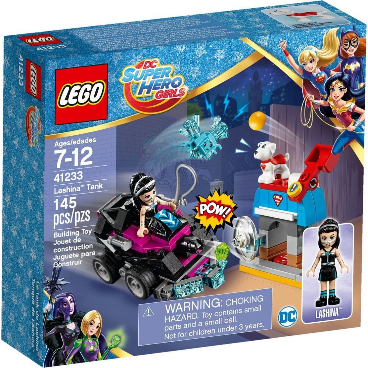 LEGO Super Heroes Girls 41233 Lashina a její vozidlo