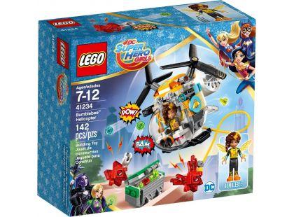 LEGO Super Heroes Girls 41234 Bumblebee a helikoptéra