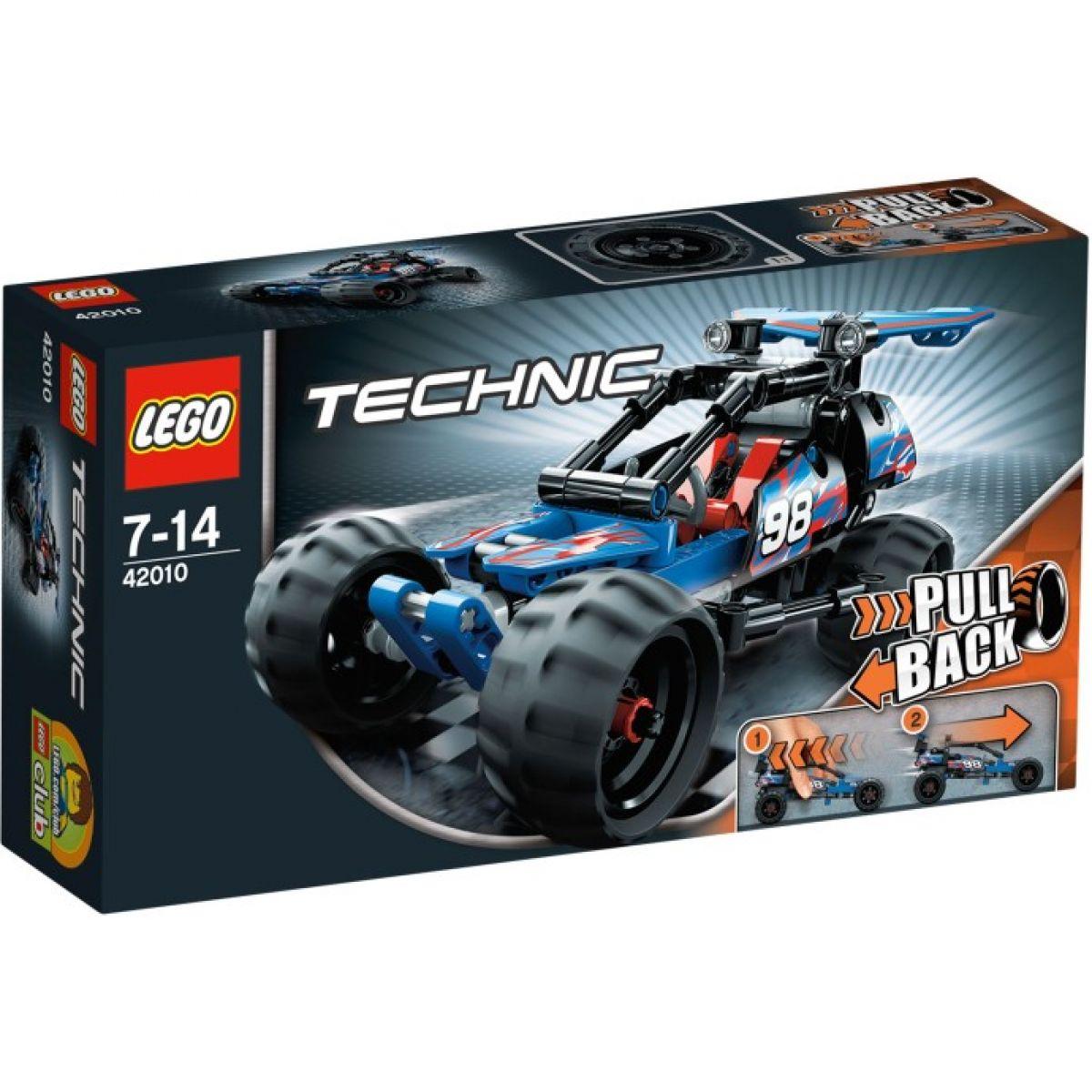 LEGO Technic 42010 Terénní čtyřkolka