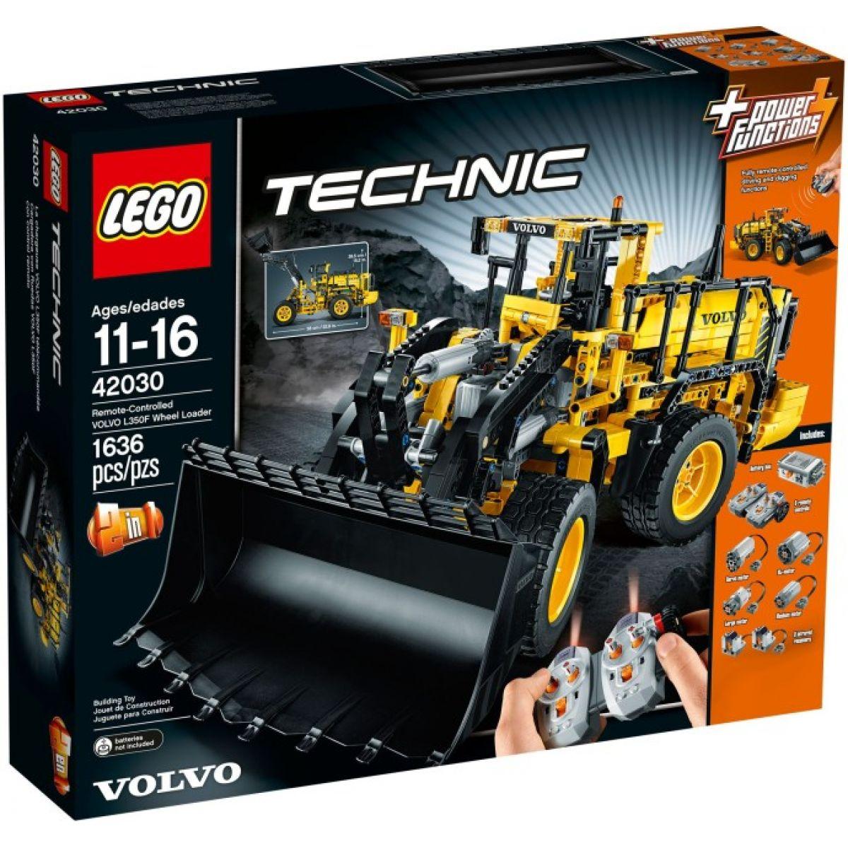 LEGO Technic 42030 Volvo L350F Kolový nakladač na dálkové ovládání