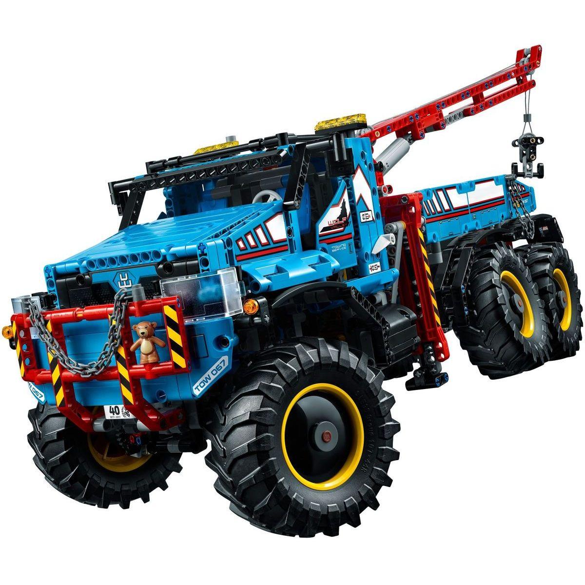 LEGO Technic 42070 Terénní odtahový vůz 6x6 - Poškozený obal