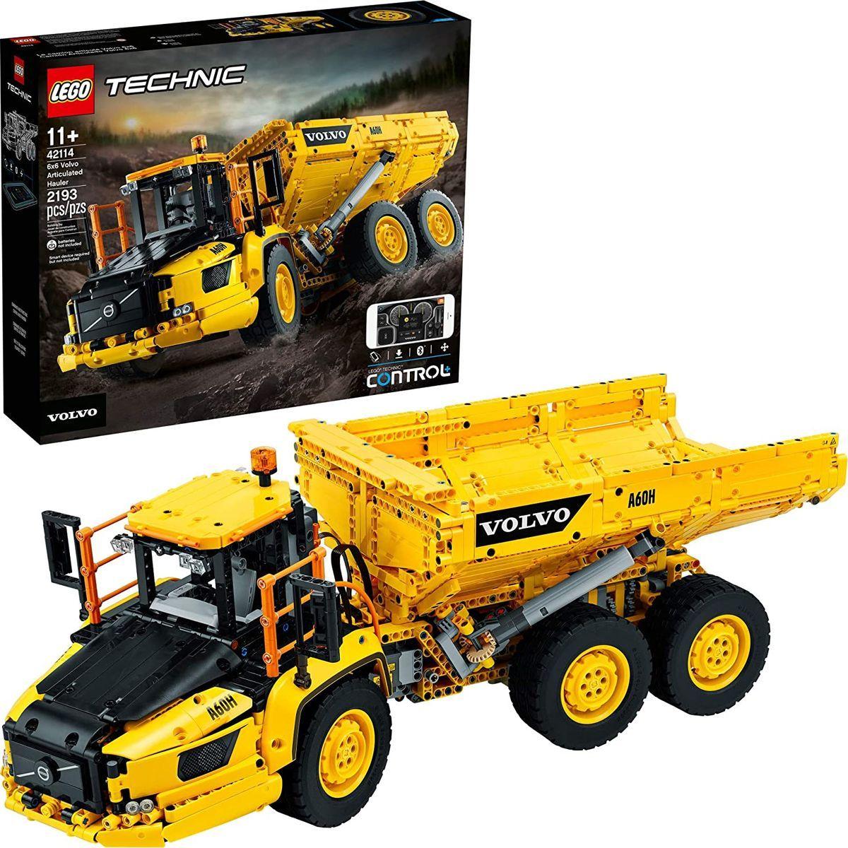 LEGO® Technic 42114 Kloubový dampr Volvo 6x6