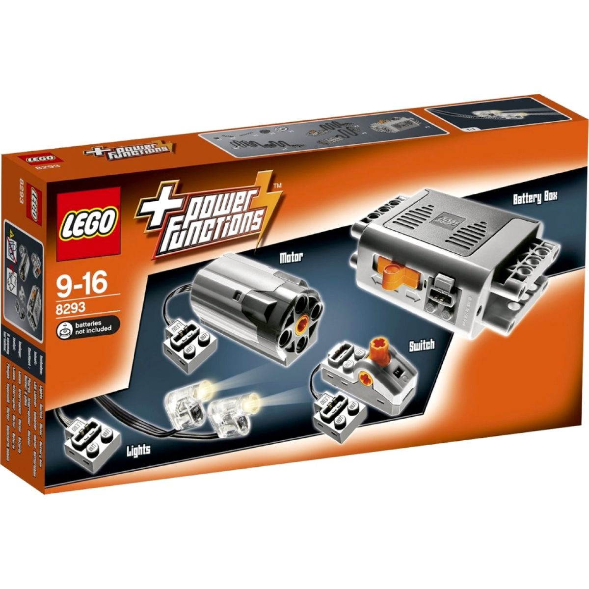 LEGO Technic 8293 Motorová sada Power