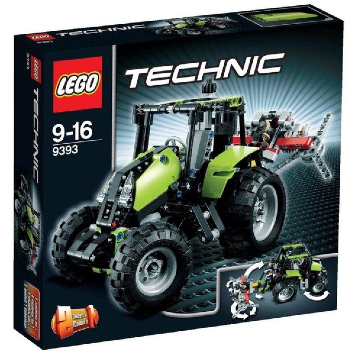 lego technic 9393 traktor max kovy hra ky. Black Bedroom Furniture Sets. Home Design Ideas