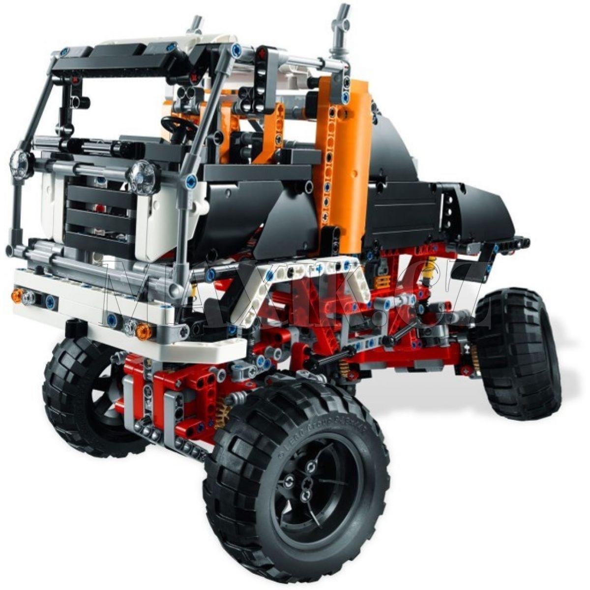 lego technic 9398 truck 4x4 max kovy hra ky. Black Bedroom Furniture Sets. Home Design Ideas