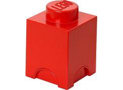LEGO Úložný box 12,5x12,5x18cm Červená