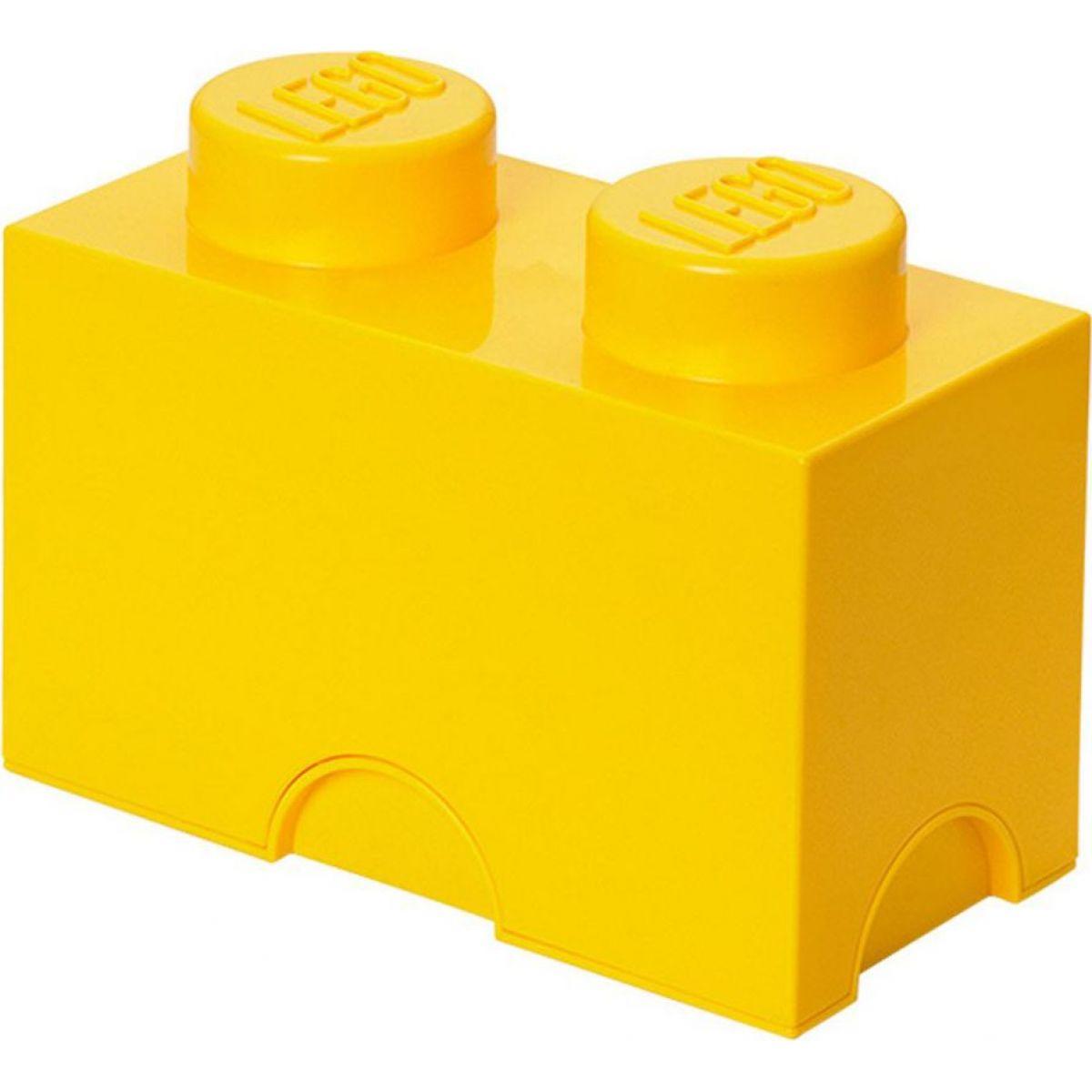 LEGO Úložný box 12,5x25x18cm Žlutá