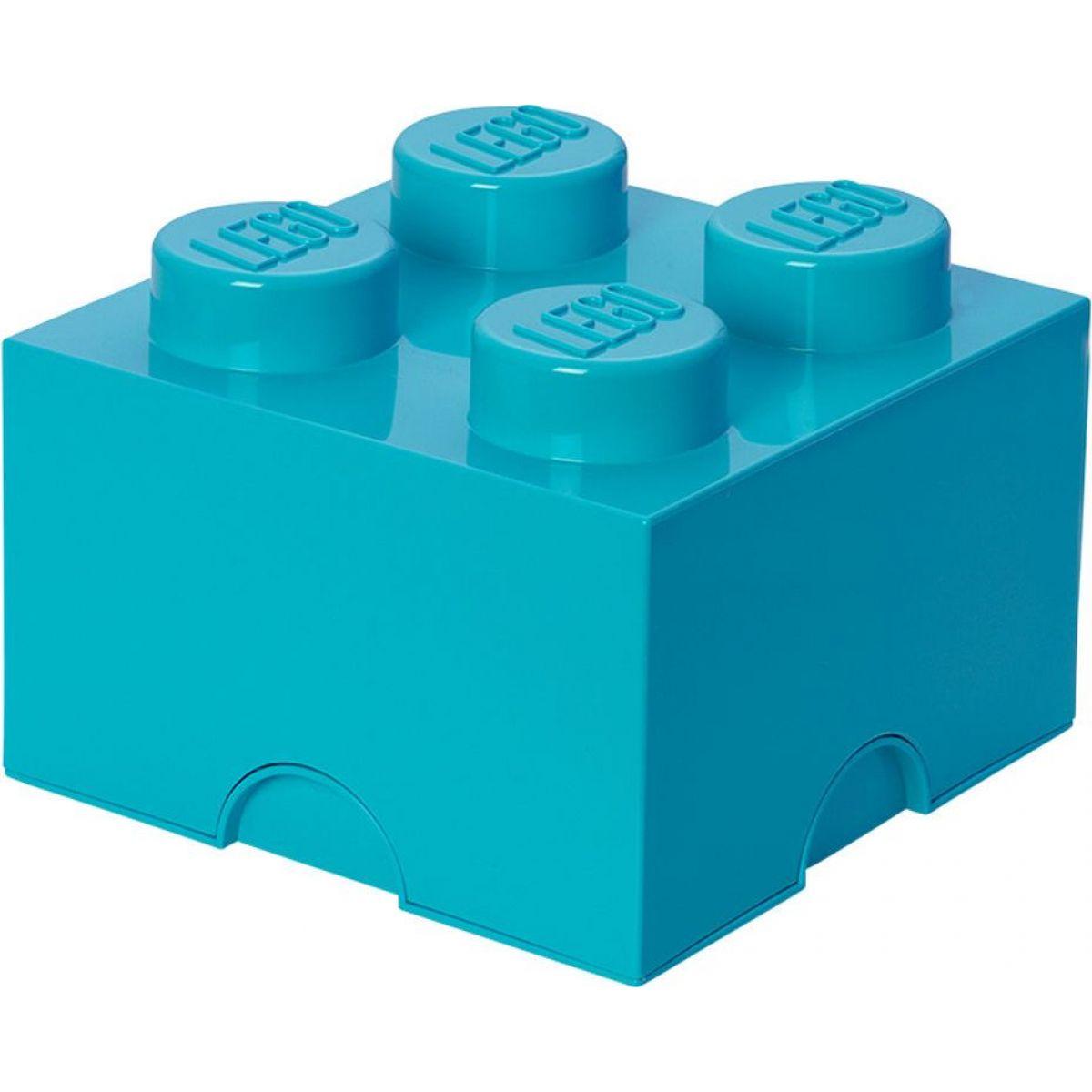 LEGO Úložný box 25x25x18cm Azurová