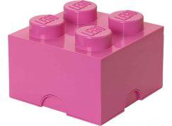 LEGO Úložný box 25x25x18cm Růžová