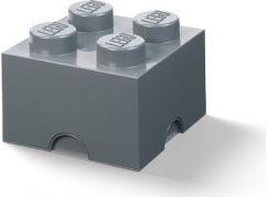 LEGO Úložný box 25x25x18cm Tmavě šedá