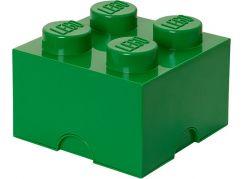 LEGO Úložný box 25x25x18cm Tmavě zelená