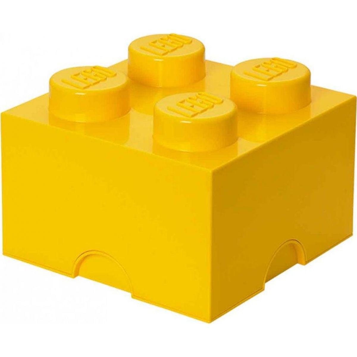 LEGO Úložný box 25x25x18cm Žlutá