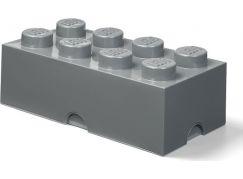 LEGO Úložný box 25x50x18cm - Tmavě šedá