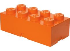 LEGO Úložný box 25x50x18cm Oranžová