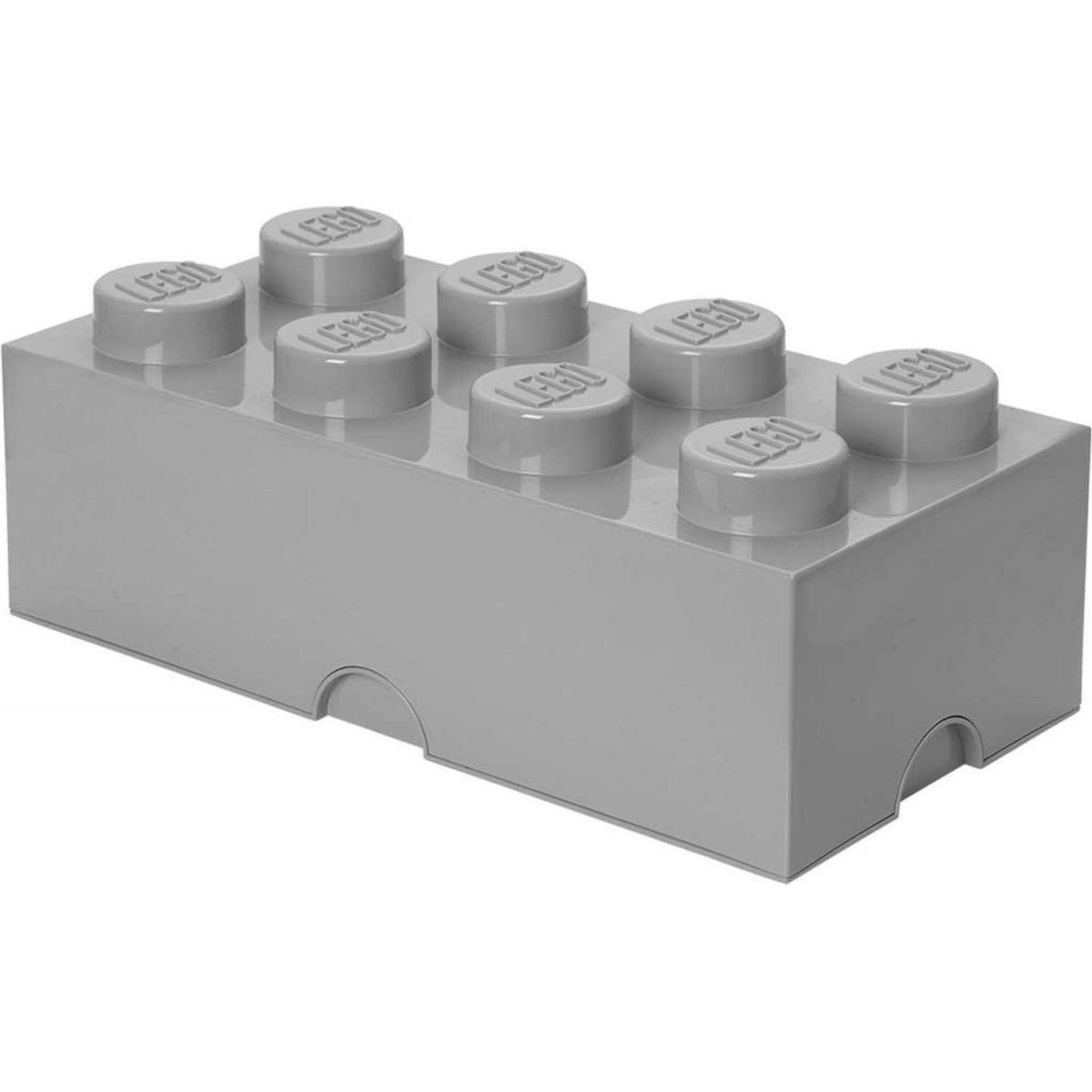 LEGO Úložný box 25x50x18cm Šedá