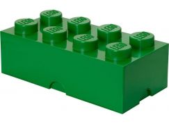 LEGO Úložný box 25x50x18cm Tmavě zelená