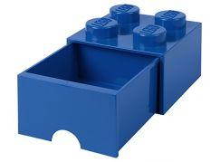LEGO úložný box 4 s šuplíkem - Modrá