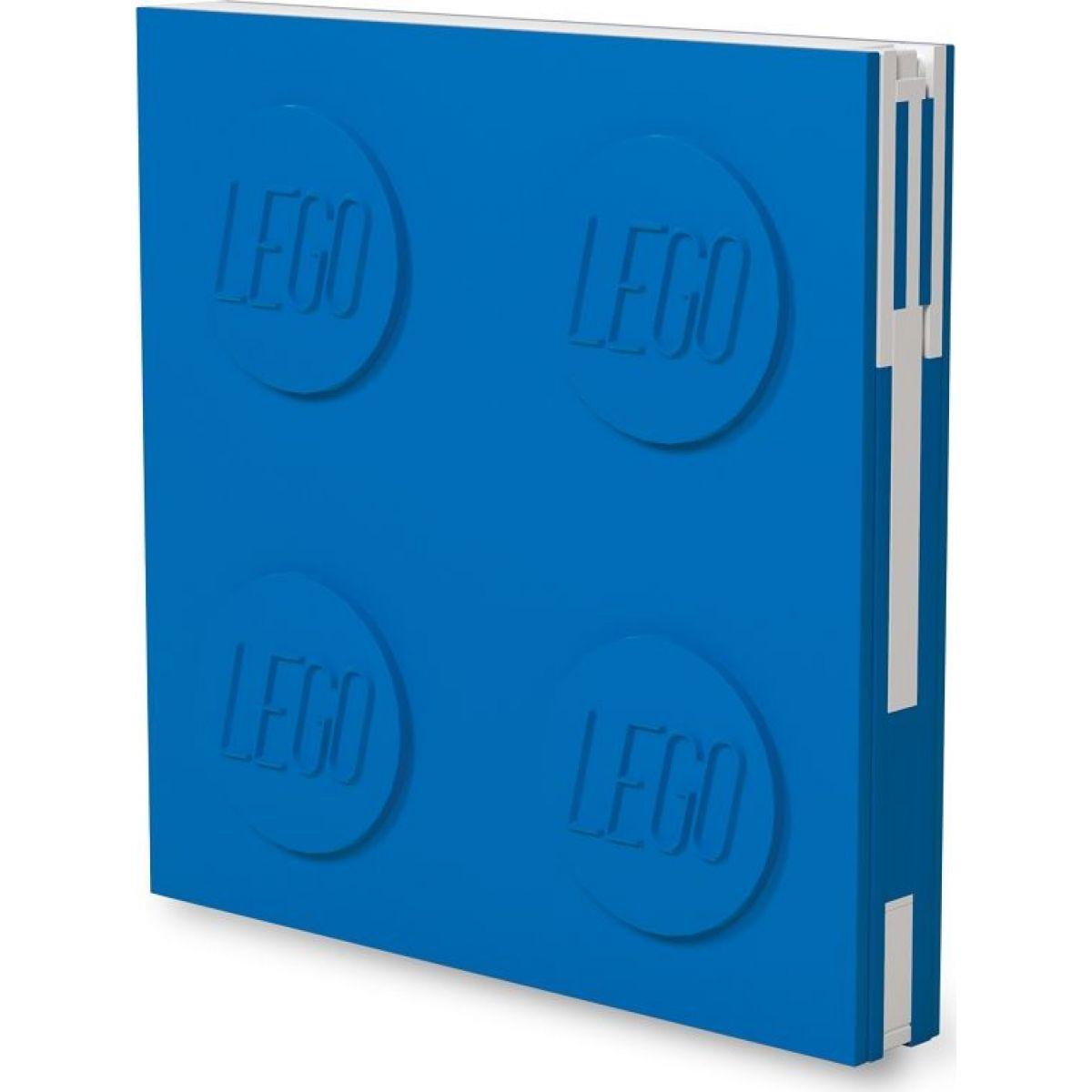 LEGO® 2.0 Zápisník s gelovým perem jako klipem - modrý