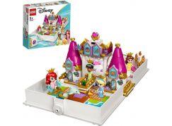 LEGO® I Disney Princess ™ 43193 Ariel, Kráska, Popelka a Tiana a jejich pohádková kniha dobrodružství