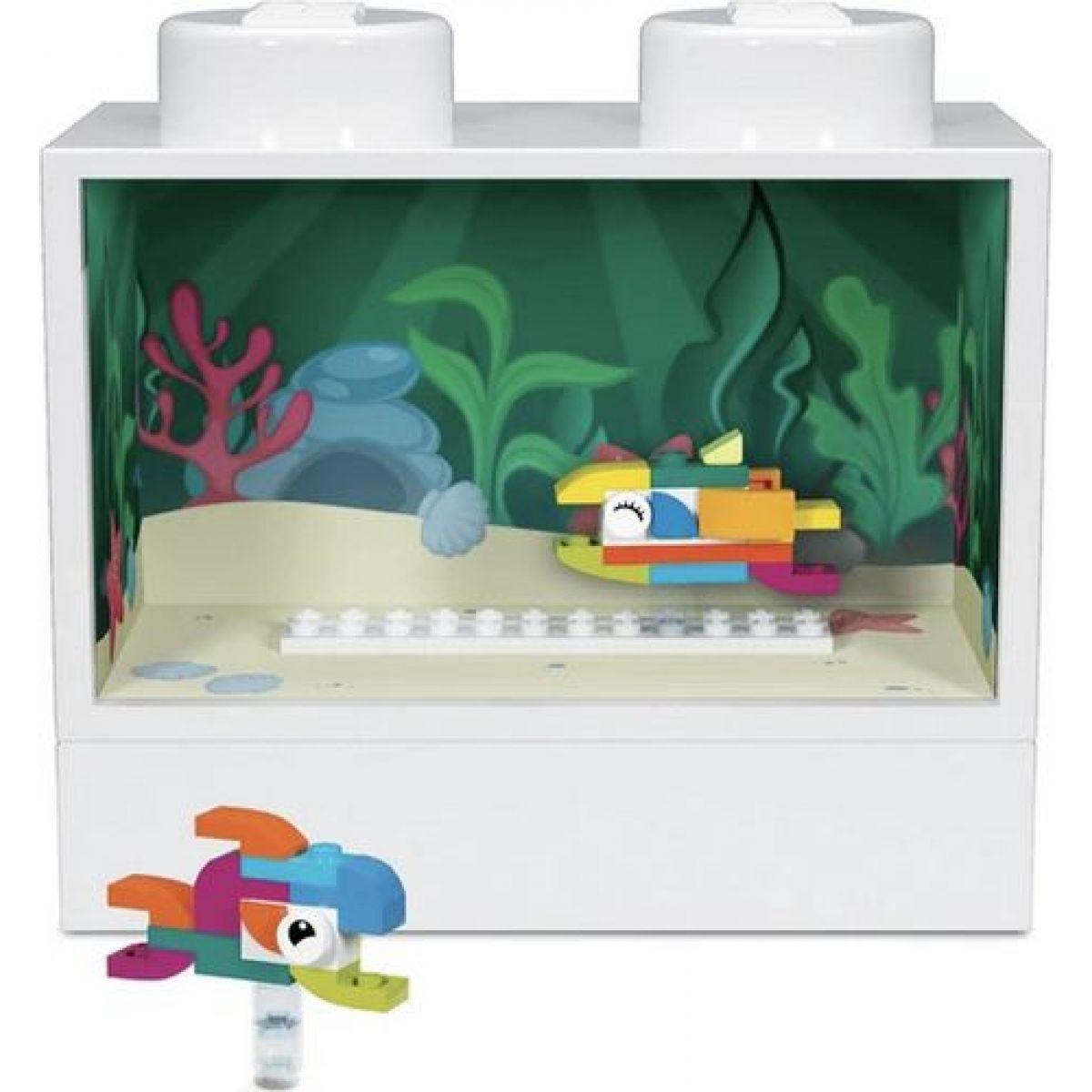 LEGO® Iconic noční světlo s figurkou Akvárium