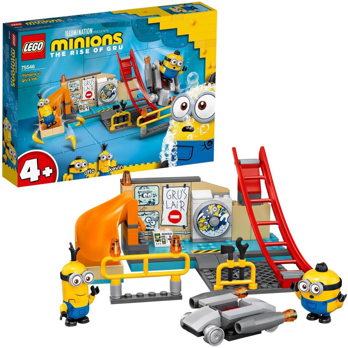 LEGO® Minions 75546 Mimoni v Gruově laboratoři