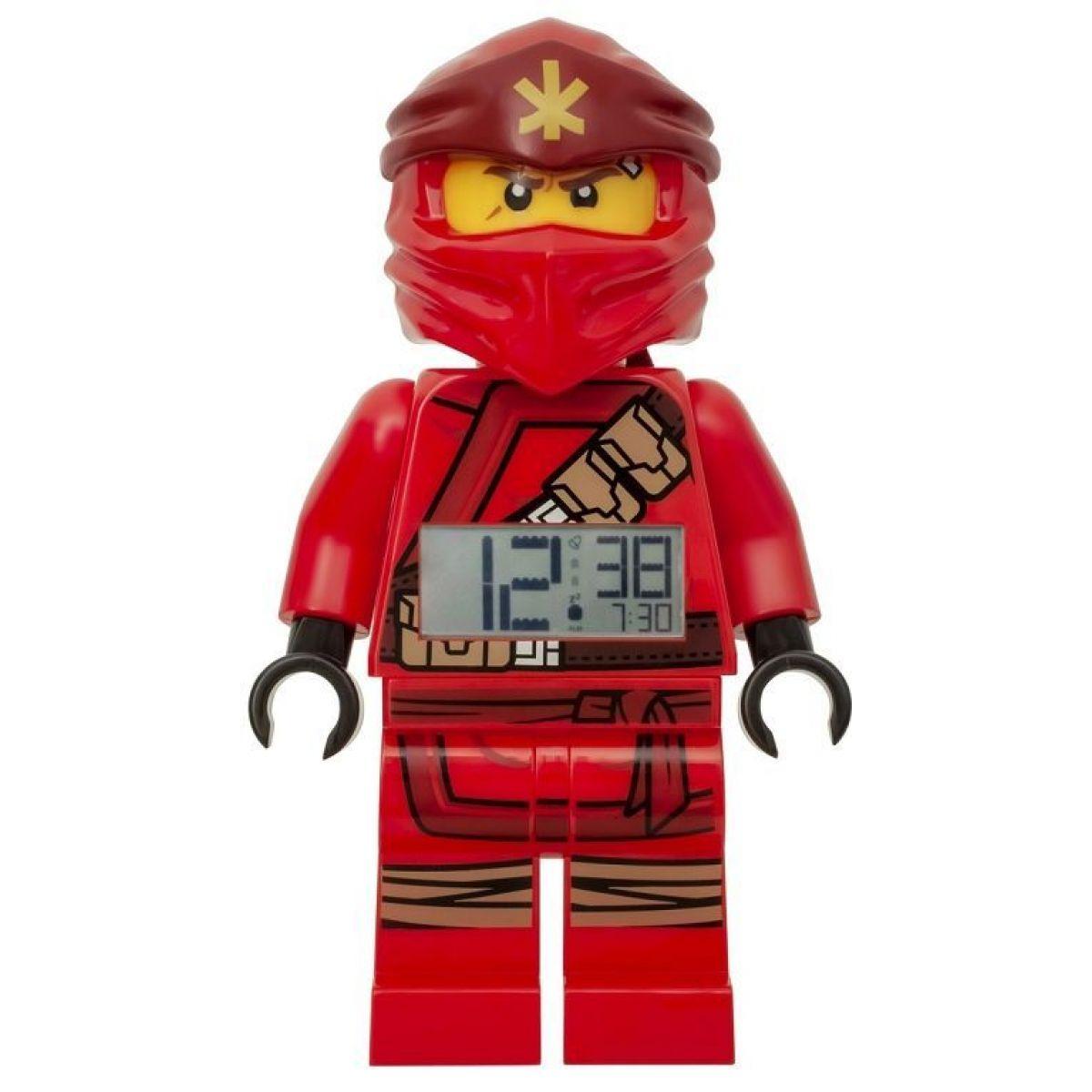LEGO® Ninjago Kai (2019) - hodiny s budíkem