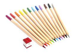 LEGO® Pastelky, mix barev - 12 ks s LEGO® klipem