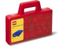 LEGO® úložný box TO-GO - červená